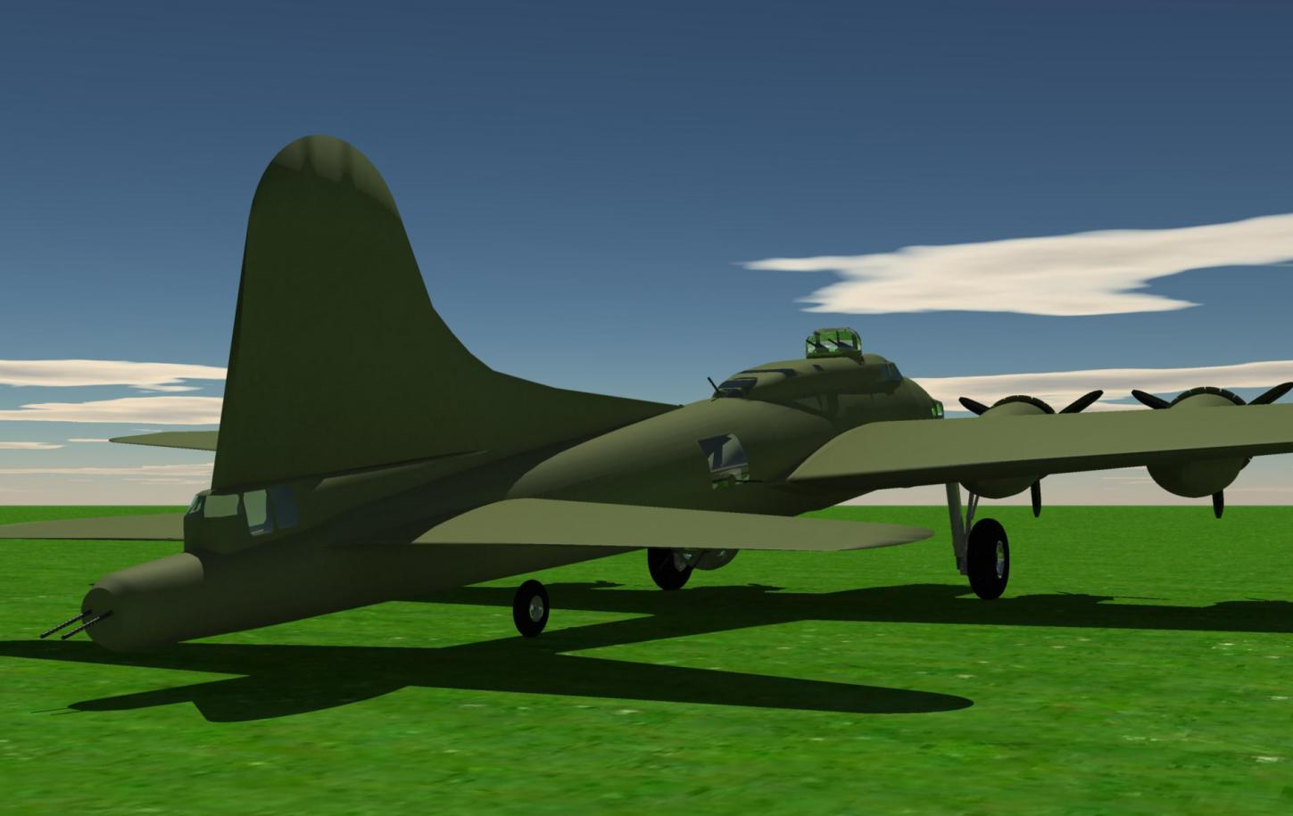 Name:  1935 Boeing B-17G solid sitting 012.jpg