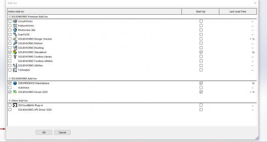 Name:  solidworks active add ins.jpg Views: 7 Size:  14.7 KB