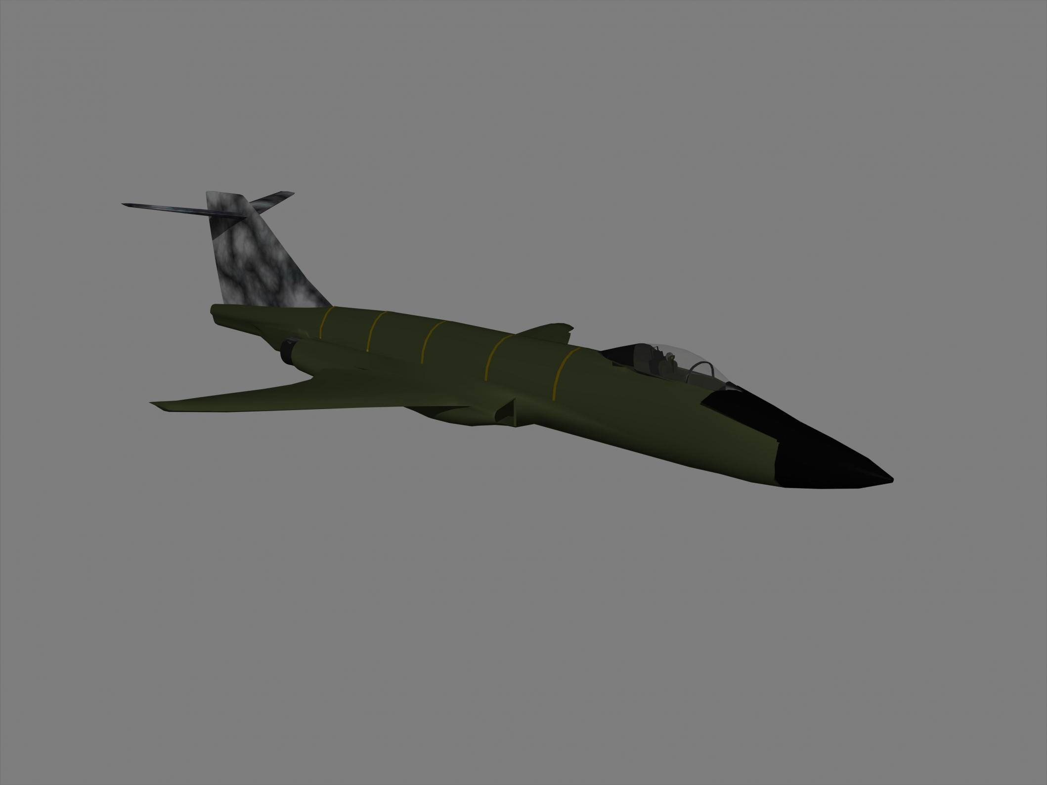Name:  RF-101 Voodoo painted no3DS as 8-8-2020.jpg Views: 238 Size:  71.2 KB